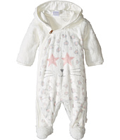 Little Marc Jacobs - Faux Fur Cool Mouse Print Footee (Infant)