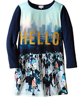 Paul Smith Junior - Printed Hello Tee Shirtdress (Toddler/Little Kids)