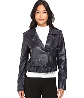 Blank NYC - Moto Vegan Leather Jacket in Uninvited