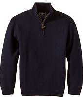 Oscar de la Renta Childrenswear - Merino 1/2 Zip Sweater (Toddler/Little Kids/Big Kids)