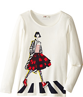 Junior Gaultier - Tee Shirt with Girl (Big Kids)