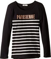 Junior Gaultier - Long Sleeves Tee Shirt Parisienne (Big Kids)