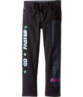 Stella McCartney Kids - Flame Embossed Denim Pants (Toddler/Little Kids/Big Kids)