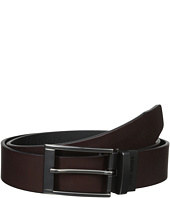 Steve Madden - 35mm Two-Tone Leather Reversible Belt