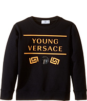 Versace Kids - Sweat Top w/ Neon Logo Design (Big Kids)