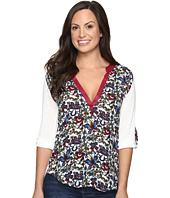 Rock and Roll Cowgirl - 3/4 Sleeve Top B4-8368