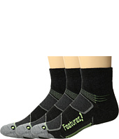 Feetures - Merino+ Cushion Quarter 3-Pair Pack