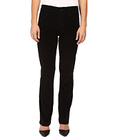 NYDJ Petite - Petite Marilyn Straight Jeans in Corduroy in Black
