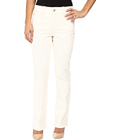 NYDJ Petite - Petite Marilyn Straight Jeans in Corduroy in Winter White