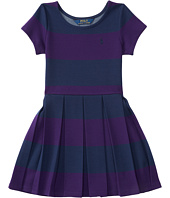 Polo Ralph Lauren Kids - Ponte Stripe Dress (Toddler)