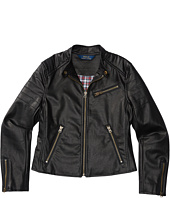 Polo Ralph Lauren Kids - Vegan Leather Jacket (Little Kids)