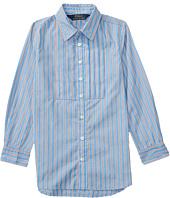 Polo Ralph Lauren Kids - Yarn-Dyed Cotton Poplin Stripe Tunic (Little Kids)