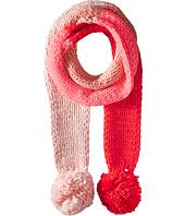 Kate Spade New York - Chunky Knit Color Block Skinny Muffler