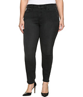NYDJ Plus Size - Plus Size Alina Legging Jeans with Glitter Tuxedo Stripe in Bristol
