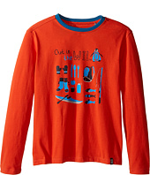 Jack Wolfskin Kids - Out in The Wild Long Sleeve (Infant/Toddler/Little Kids/Big Kids)