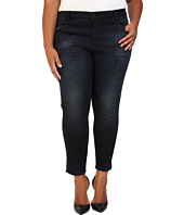 KUT from the Kloth - Plus Size Crop Skinny Jeans in Refresh