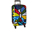 "Britto Butterfly 21"" Spinner"