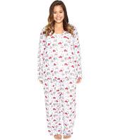 Carole Hochman - Plus Size Packaged Novelty Print Pajama