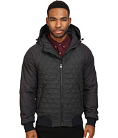 Scotch & Soda - Short Quilted Jacket in Mix & Match Wool and Nylon Quality