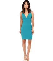 Nicole Miller - Deep V Seamed Dress