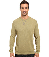 True Grit - Double Side Slub and Knit Crew Neck Sweatshirt w/ Stitch Details