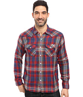 True Grit - Montana Plaid Long Sleeve Two-Pocket Western Shirt