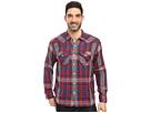 Montana Plaid Long Sleeve Two-Pocket Western Shirt