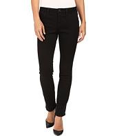 Jag Jeans Petite - Petite Portia Straight in Platinum Denim in Black