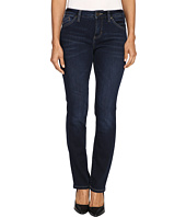 Jag Jeans Petite - Petite Portia Straight in Platinum Denim in Indio