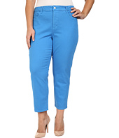NYDJ Plus Size - Plus Size Ira Relaxed Ankle Jeans in Chateau Blue