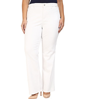 NYDJ Plus Size - Plus Size Isabella Trouser Jeans in Optic White