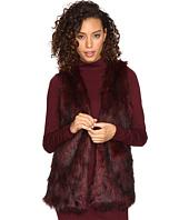 kensie - Tipped Fur Vest KSNK2111