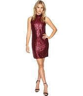kensie - Dense Sequin Jersey Dress KSNK7252