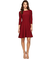 Christin Michaels - Andrea 3/4 Sleeve Fit and Flare Dress