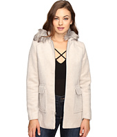 Brigitte Bailey - Orla Zip-Up Coat with Faux Fur