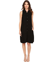 Three Dots - Sleeveless Shirtdress