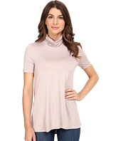 Three Dots - Janessa - Short Sleeve Turtleneck