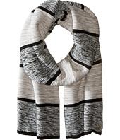 Cole Haan - Wide Marl Stripe Muffler
