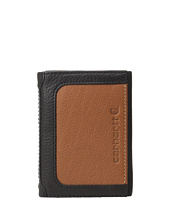 Carhartt - Black & Tan Trifold Wallet
