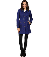 MICHAEL Michael Kors - Single-Breasted Belted Trench M721911L74