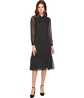 Kate Spade New York - Pin Dot Chiffon Shirtdress