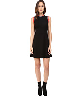 McQ - High Neck A-Line Dress