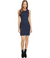LOVE Moschino - Star Studded Denim Dress