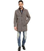 Kenneth Cole New York - Wool Twill Car Coat