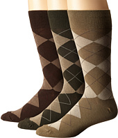 Polo Ralph Lauren - 3-Pack Classic Argyle Cotton Blend with Polo Logo Knit In On Sole