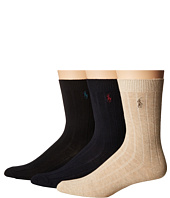 Polo Ralph Lauren - Dress Rib Slack 3-Pack (Toddler/Little Kid)