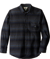 VISSLA Kids - Avalanches Long Sleeve Novelty Flannel (Big Kids)