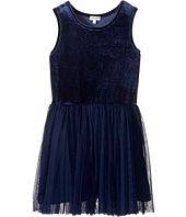 Splendid Littles - Velour with Triple Mesh Dress (Big Kids)