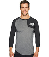 New Balance - Asymmetrical Baseball Tee Left