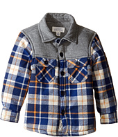 Pumpkin Patch Kids - Spliced Check Shirt Jacket (Infant/Toddler/Little Kids/Big Kids)